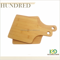 Wholesale china factory bamboo pizza paddle board