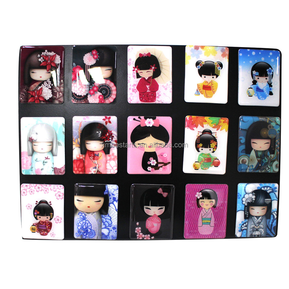 Hot Promotional Famous Cute Design Gift Sex Japanese Girl Fridge Magnet Photo Frames