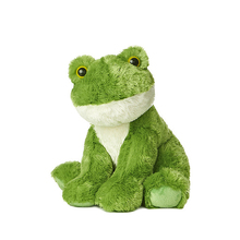 China Plush Toy Manufacturer Plush Green Frog Stuffed Animal Frog for Baby