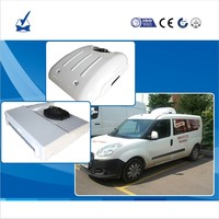 DC 12V 24V Electric Roof Mounted Carrier Frozen Refrigeration Units for Freezer Ice Cream Cargo Van