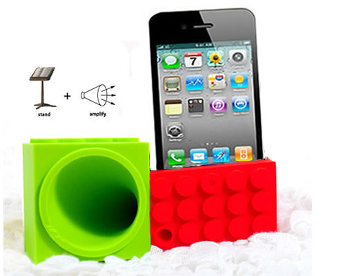 Mobile Phone Stand Amplifier Blocks