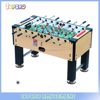 wooden table soccer/football game on desk