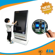 50 Inch TFT Type and Indoor Application LCD self service kiosk with digital signage player