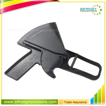 High Quality Plastic measuring skinfold body fat caliper
