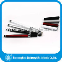 good look business promotioal style metal stylus touch gel pen