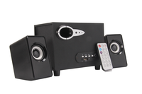 2.1 woofer multimedia speaker with usb/fm/sd/remote control
