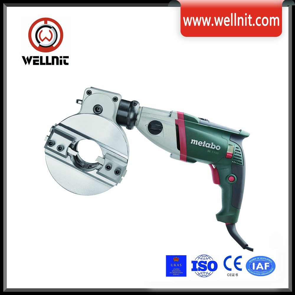 portable pipe beveling machine