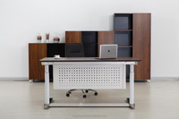 Electric Height Adjustable Manager Table with Modesty Panel/LT02A