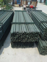 galvanized fence picket, Steel fence post, garden Y fence post