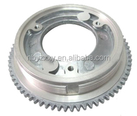 die casting aluminum parts belt wheel bevel gear
