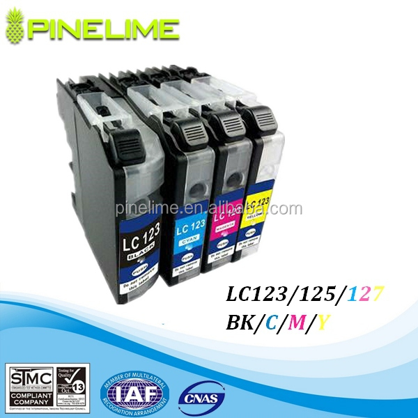 LC123 LC125 LC127 printer ink cartridge with Brother MFC-J4410DW J4510DW J4610DW J4710DW
