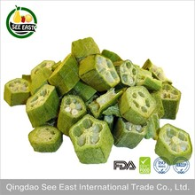 Healthy FD Vegetable Freeze Dried Okra