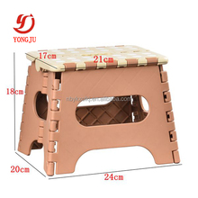 Plastic industrial step stool folding plastic step