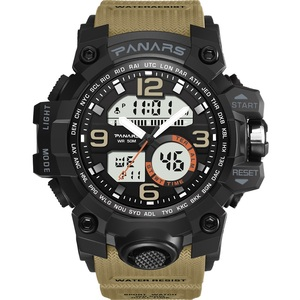 PANARS hot sale waterproof chrono alarm digital mens wrist sports watch
