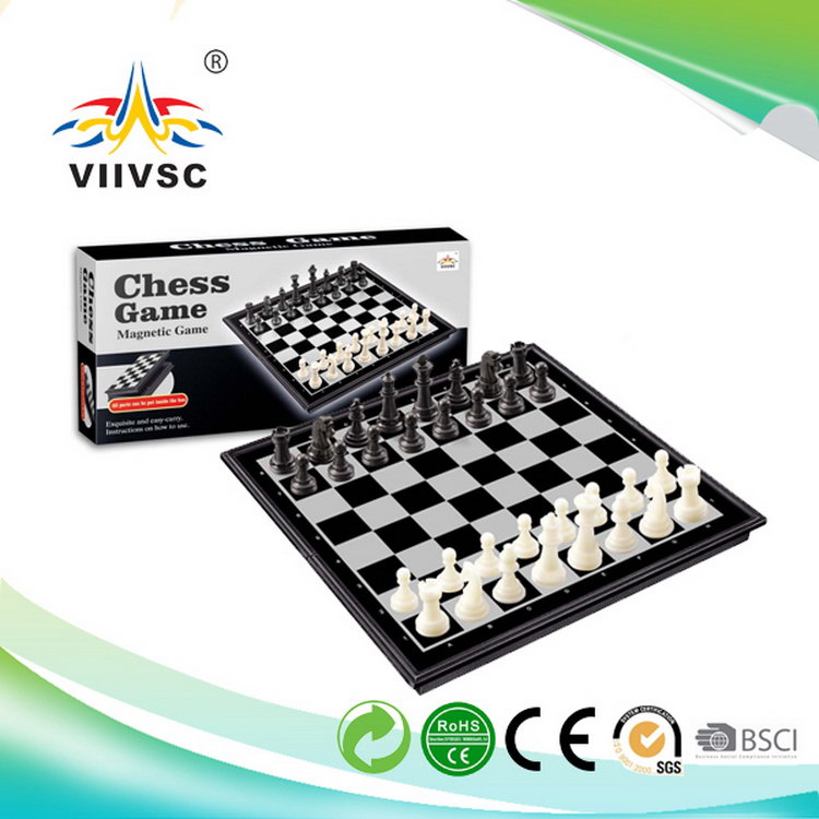 The Newest high-ranking plastic craft colorful chess pieces