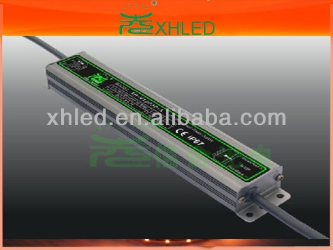 2012 xinhe 30W LED waterproof transformer(AC/DC)