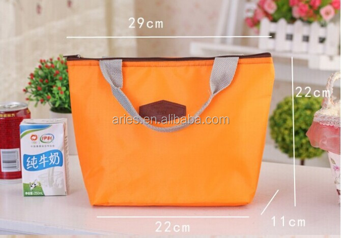 Thermal Insulated Portable Cooler Waterproof Lunch Picnic Tote Storage Carry Bag
