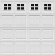 Automatic Sectional Garage Door With 40/50mm PU Panel