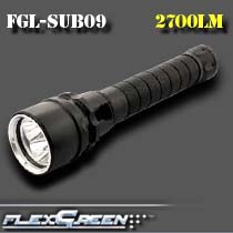 deep sea aluminum recharbeable 3 xml2 <strong>U2</strong> LED <strong>diving</strong> flashlight