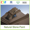 Chemical weather resistance washable natural stone paints exterior texture wall coating from China supplier