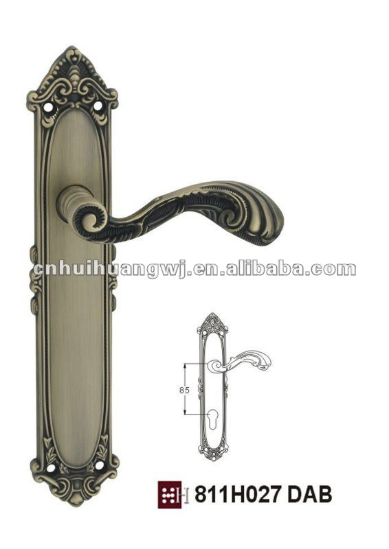 811H027 DAB front door handles and locks