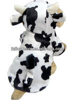 Pet Christmas Fall And Winter Dairy Cow Appearance Clothes CFS6-9