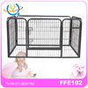 Pet Dog Cat Playpen Pen Fence Kennel Crate Folding Puppy Exercise Cage Play Door 401