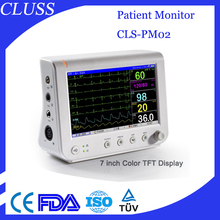 CE & ISO hospital multiparameter cheap patient monitor CLS-PM02