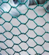 weight of pvc coated chicken wire mesh/ hexagonal wire netting