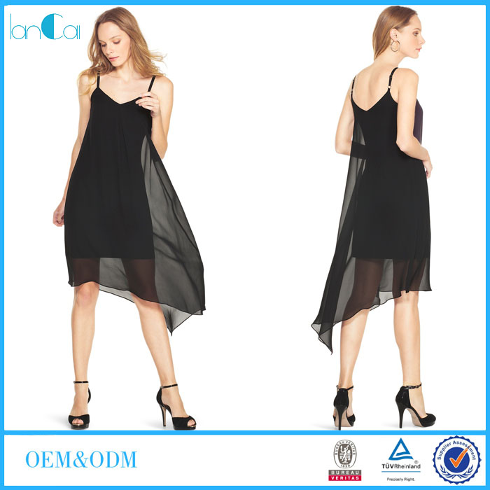 Flowing hippie chiffon dress pictures of smart casual clothing for women