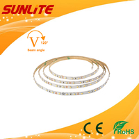 12V/24V DC IP20 None-waterproof IP65 waterproof SMD3528 led strip light with Strong 3M adhesive