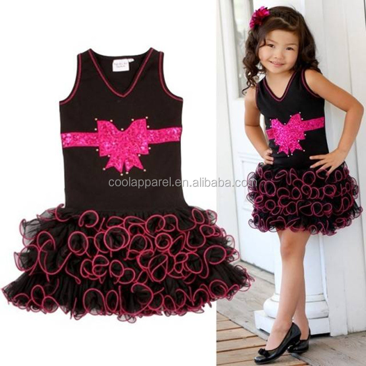 Chiffon baby dress,ribbon flowers dress baby,chiffon new baby frocks styles for 1-5years