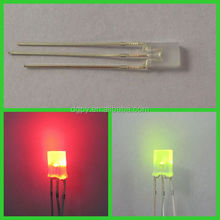 High Quality bi-color led Lighting diodes Red/Yellow ( CE & RoHS )
