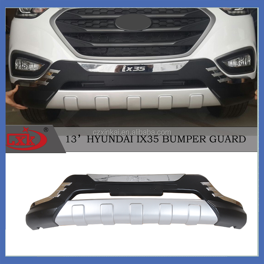 Auto parts accessories Hyundai front bumper guard and rear for IX35 2013 from China supplier