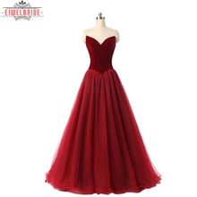 Beautiful Wholesale Modern Simple red Elegant A-Line Evening Dresses