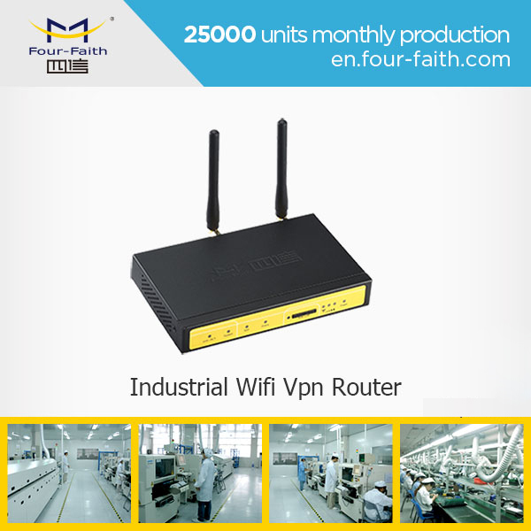F3824 3g wcdma 4g lte router support VPN server(PPTP, L2TP, OPENVPN, IPSEC and GRE) i