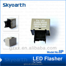 8P Flasher For Turn Signal Light Toyota Series Unit