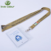 Event custom name card holder polyester rope lanyard
