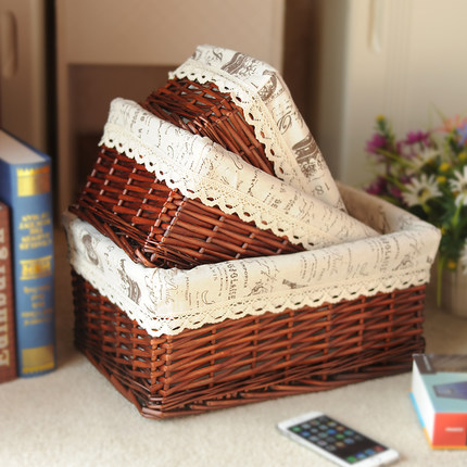 Wholesale various hand woven storage baskets, laundry baskets, dirty clothes basket