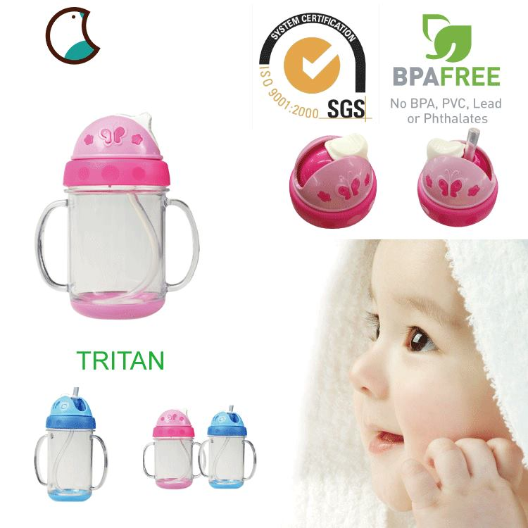 Wholesale OEM Baby Bottle With Lids Baby Training Cup Baby Sippy Cup