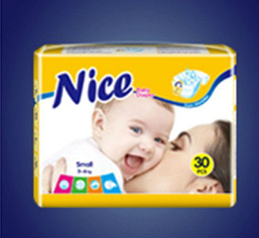 2015 Newly style soft quality Baby Diapers ( perfume smell) manufacturer in Quanzhou