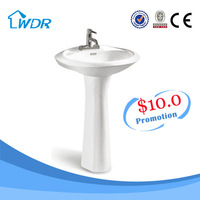 sell well all over the country sanitary ware pedestal basin $10