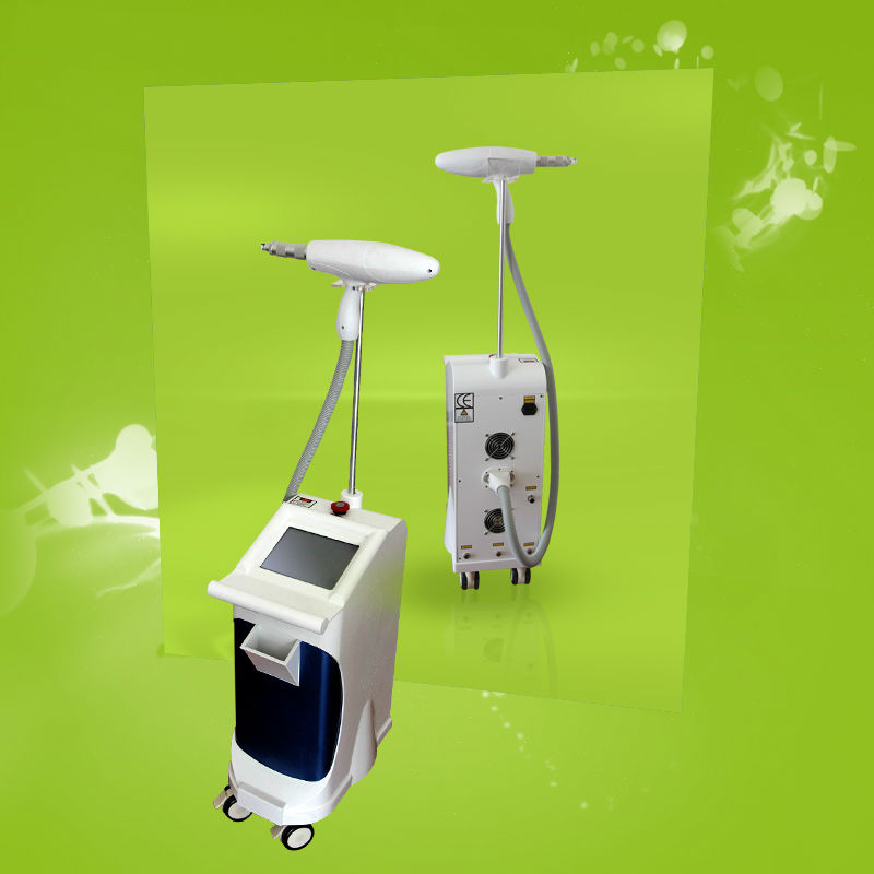 P003-High quality <strong>Q</strong> switched ND YAG cosmetic laser hair removal machine/May promotion