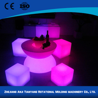 China supplier decoration wireless led cube light
