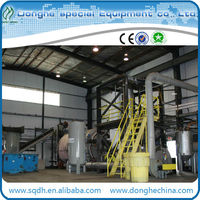 hot sale used plastic pyrolysis equipment with new tech and CE/ISO