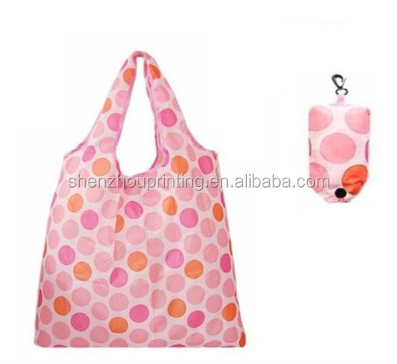 2015 Hot sale Customized polyester bag/polyester tote bag/Polyester shopping trolley bag