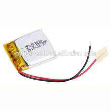 2018 new 3.7V 100mah 402020 rechargeable lithium polymer battery