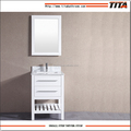 White Lacquer chinese bathroom vanity T9223-24W