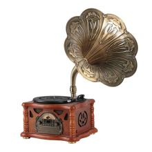 Retro Home Decoration Antique Imitation Gramophone with Music Player