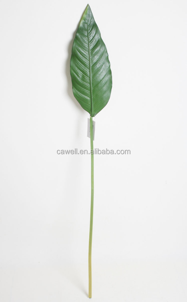 Wholesale real touch decor artificial banana leaf buy for Artificial banana leaves decoration